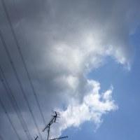 青空と雨雲の境目
