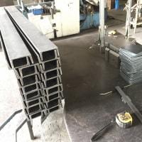 設備設置用架台の製作