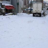 小樽の積雪73cm また雪降った  3/24