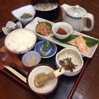 【menu】十和田湖ひめます開運だし茶漬け