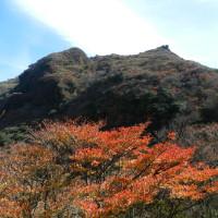 紅葉の雲仙 妙見~国見~普賢岳(H28.11.12)