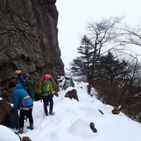 2016/11/26-27:Yeti三つ峠岩登り