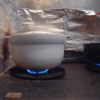 玄米ご飯の炊き方(マクロビ家族の小豆入り玄米ご飯)