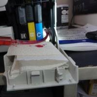 プリンター インクヘッド 詰まり修理