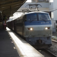 EF66-106号機@吹上駅