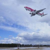小松空港の雪レフ