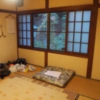2016年10月『徳本峠』を訪れる(1)-第1日目・明神池の『嘉門次小屋』に泊まる