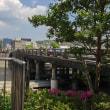 京都・三条大橋のたもとのスタバでデイトレ三昧