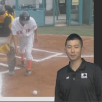 捕手と打者走者の出会い頭のプレー