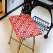 ミシン用に椅子を張り替えました