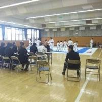 空手道連盟の審判講習会