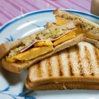 昨日の弁当と今朝の朝ごパン