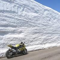 蔵王エコーライン雪壁2017