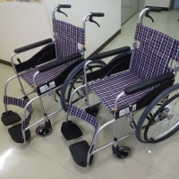 今年も車椅子の寄付ができます。