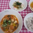 えびと豆腐のケチャップ煮
