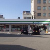 その昔、ここは石川交通の本社だった。彦三大通り。