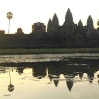 カンボジア・ベトナム旅行記(6)逆さアンコールワット
