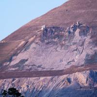 伊吹山の鉱山