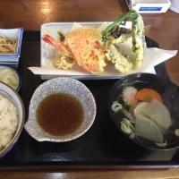 お昼 千葉県 一ノ宮 天ぷら定食