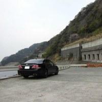 駿河湾沿いを走る