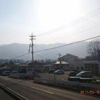 富士見から見た山のすがた