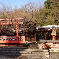 「神仏霊場巡り」車折神社(くるまざきじんじゃ)京福嵐山電鉄に乗って車折神社駅で下車、賑やかで建て詰まった細い道