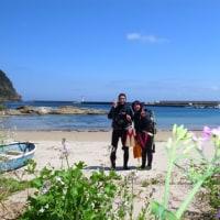 リピーターのお客様☆お花畑を抜けて新港潜ってきましたぁ。