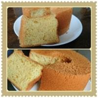 マーマレードのシフォンケーキ