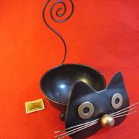 ♪♪ 黒猫の小物入れ...