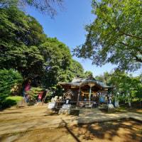 城山神社(所沢市滝の城址公園)