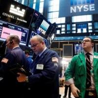 米国株式市場は大幅安、減税策の実施遅れるとの懸念で・・・円高