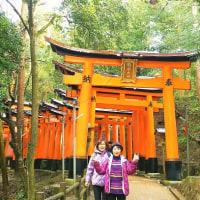 伏見稲荷大社への初詣と四条河原町近辺でランチ(TT)