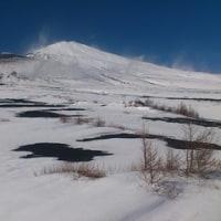 お正月の富士山御殿場口より