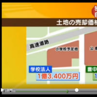グーグルマップで「森友学園」小学校を見る。