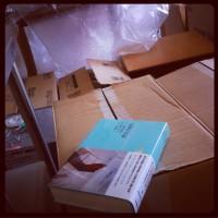 こんまる日々21:工事中のモノの箱詰め