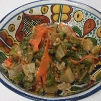 アサリと野菜の味噌合え