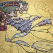 アフリカンな刺繍、、展示会に向けてvol1