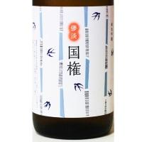 ◆日本酒◆福島県・国権酒造 国権 純米吟醸 原酒 儚淡 スワローラベル 夏の日本酒/夏酒