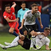 ドイツ代表、コンフェデ杯第二戦。チリ戦は1対1のドローで暫定準決勝進出へ。