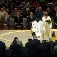 ▣東京初場所初日前日7日土俵祭り、見学後国錦 相撲甚句会館に於いて、初笑「相撲寄席」。超満員御礼。次回5月場所前日13日開催予定、是非ご一緒しましょう。林 太一