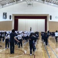 『向中野小学校運動会練習』
