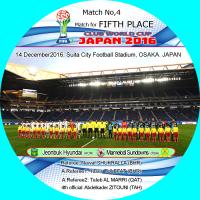 FIFAクラブワールドカップ、マッチ4、5、6、7。ラベル。