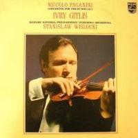 ◇クラシック音楽LP◇ギトリスのパガニーニ:ヴァイオリン協奏曲第1番/第2番「ラ・カンパネラ」