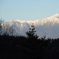 12月3日(土)快晴の独鈷山に登る