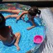 屋外で手軽にプール