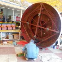 「輪投げ」の修理