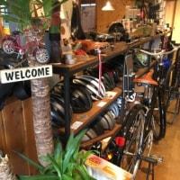 タカハシサイクルRinz TOKYOの水色の自転車