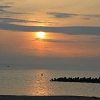 6月8日の夕陽