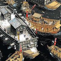 10年に及ぶ石山合戦が始った。
