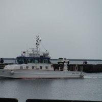警備艇「はぐろ」入港